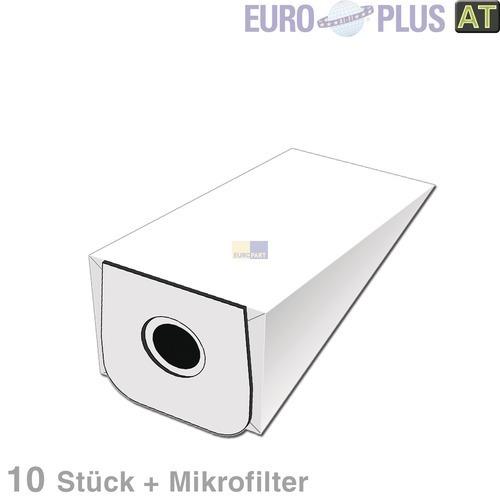 Klick zeigt Details von Filterbeutel Europlus A1021 u.a. wie AEG Gr. 7 10 Stk