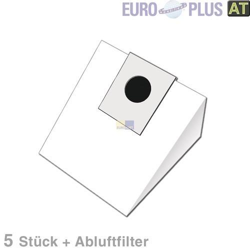Klick zeigt Details von Filterbeutel Europlus EIO1601 für Bodenstaubsauger 5 Stk