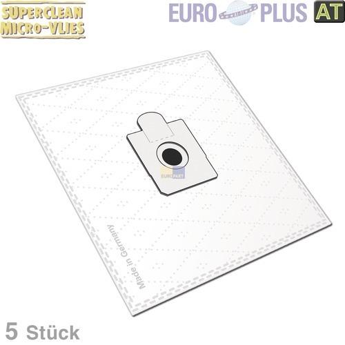 Klick zeigt Details von Filterbeutel Europlus EIO1604 Vlies für Bodenstaubsauger 5 Stk