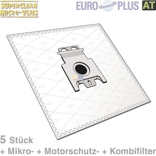 Klick zeigt Details von Filterbeutel Europlus H6022 Vlies u.a. für Hoover Telios T 5 Stk