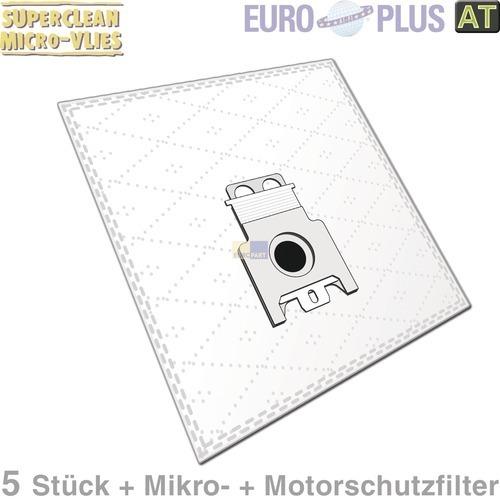 Klick zeigt Details von Filterbeutel Europlus M309 Vlies u.a. für Miele Cat & Dog 5 Stk