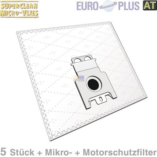 Klick zeigt Details von Filterbeutel Europlus M301 Vlies u.a. für Miele S 140 5 Stk