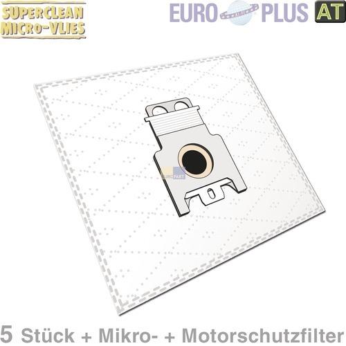 Klick zeigt Details von Filterbeutel Europlus M308 Vlies u.a. für Miele Electronic 5 Stk