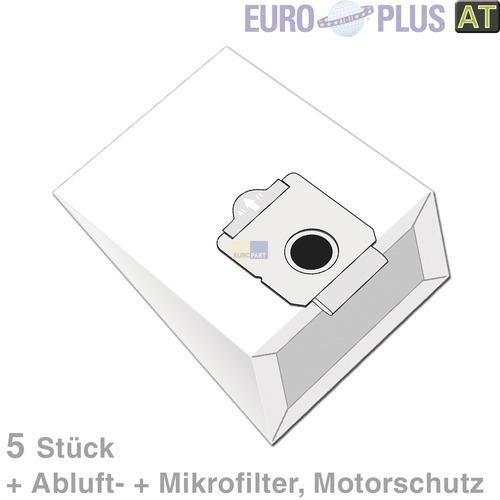 Klick zeigt Details von Filterbeutel Europlus MX905 u.a. für Moulinex Vectral 5 Stk