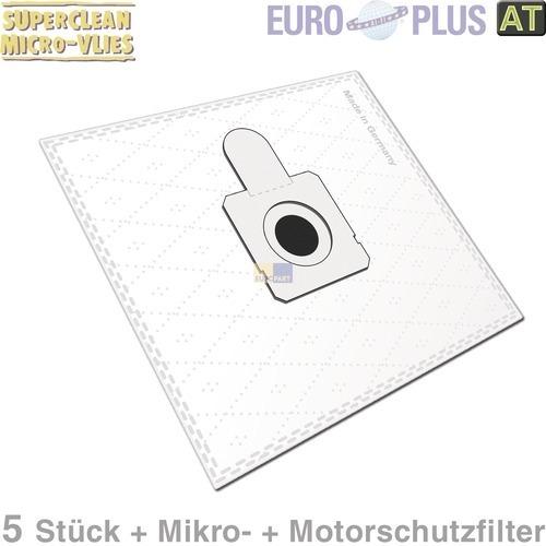 Klick zeigt Details von Filterbeutel Europlus OM1579 Vlies u.a. für Quelle Optimo 5 Stk