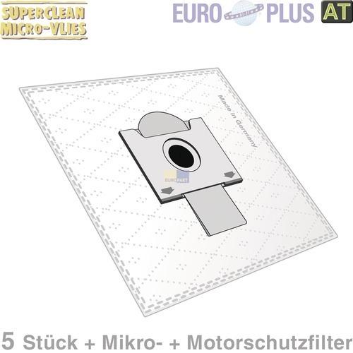 Klick zeigt Details von Filterbeutel Europlus R5001 Vlies u.a. für Rowenta 5 Stk