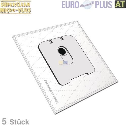 Klick zeigt Details von Filterbeutel Europlus R5112 Vlies für Rowenta 5 Stk
