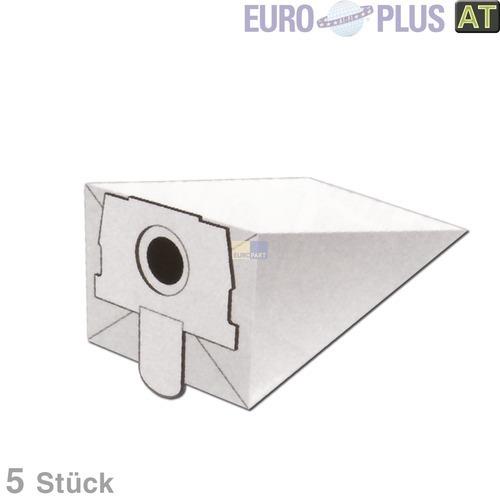Klick zeigt Details von Staubsaugerbeutel Staubsauger R5015 Europlus Expert Filterclean Melitta Swirl Menalux Progress Rowenta Topfilter Wolf