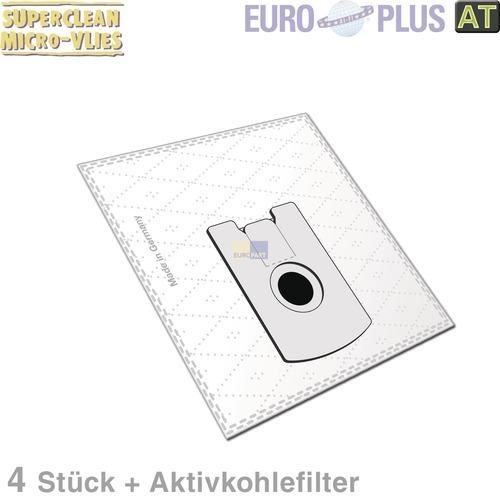 Klick zeigt Details von Filterbeutel Europlus VO1160 Vlies für Vorwerk Tiger VK 4 Stk