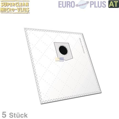 Klick zeigt Details von Filterbeutel Europlus D150 Vlies für DirtDevil M Serie 5 Stk
