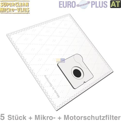 Klick zeigt Details von Filterbeutel Europlus X98 Vlies u.a. für DirtDevil Piccolo 5 Stk