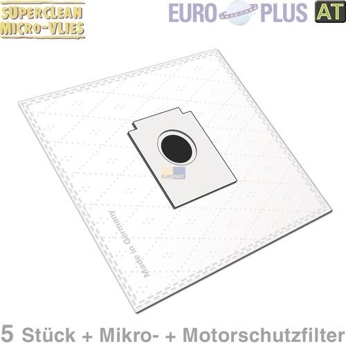 Klick zeigt Details von Filterbeutel Europlus X104 Vlies u.a. für TipTop Beetle 5 Stk