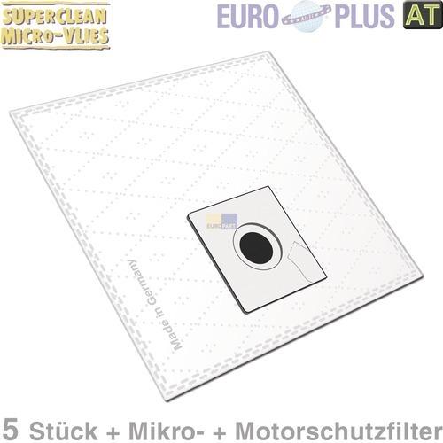 Klick zeigt Details von Filterbeutel Europlus X293 Vlies u.a. für Progress P55 5 Stk
