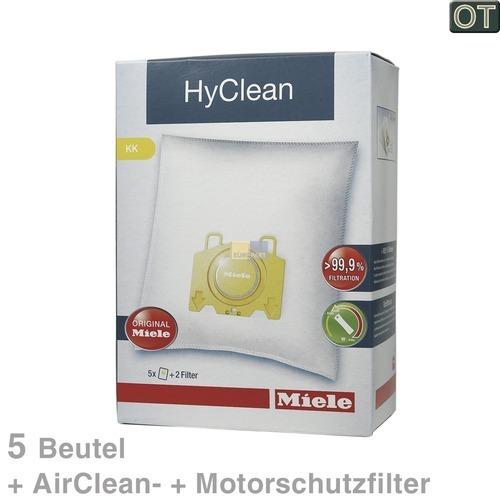 Klick zeigt Details von Filterbeutel Miele TypK/K für Miele S 140 - 168 10123260 5 Stk