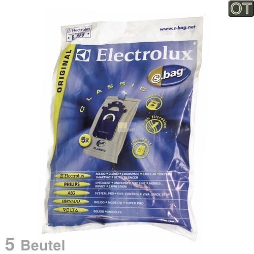 Klick zeigt Details von Filterbeutel E200 Electrolux 900084480/4 5 Stk