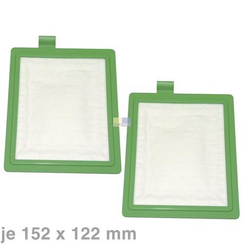 Klick zeigt Details von Filter Abluftfilter AEG 900195150/9 AEF08 AirMax Original für Staubsauger EF17 2Stk