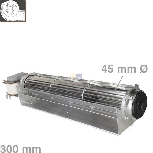 Klick zeigt Details von Querstromlüfter, 300mm, Mo.li, flach