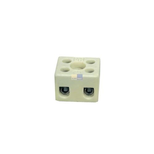 Klick zeigt Details von Porzellanklemme 2-polig,