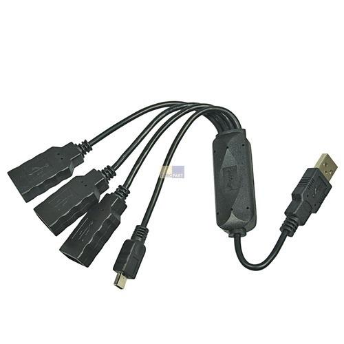 Klick zeigt Details von USB 2.0 Kabel HUB 3+1 Port