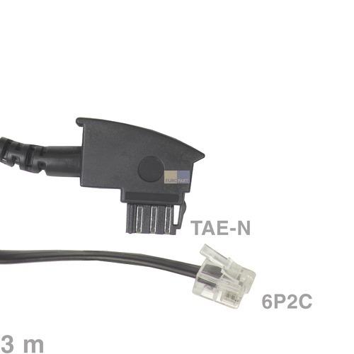 Klick zeigt Details von Kabel Anschlusskabel TAE-N / 6P2C 3m