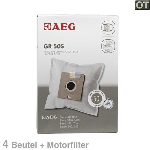 Klick zeigt Details von Filterbeutel AEG Gr.50s, OT! Electrolux Volta