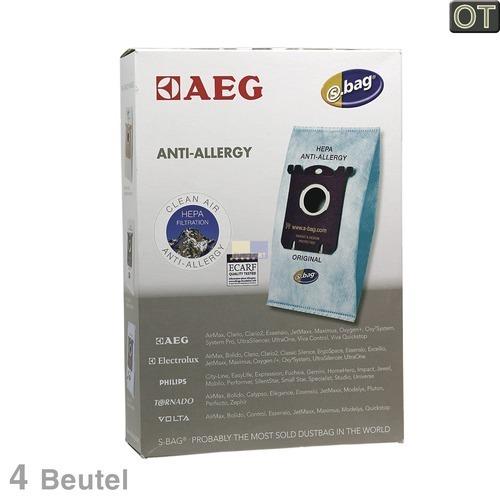 Klick zeigt Details von Filterbeutel AEG Gr. 206 Electrolux 900256473/1 4 Stk