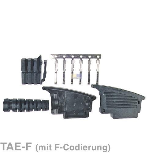 Klick zeigt Details von Adapterstecker TAE-F Telefon