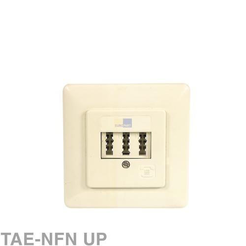 Klick zeigt Details von Anschlussdose 3-fach TAE-NFN UP