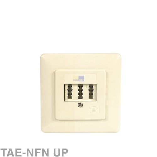 Anschlussdose 3-fach TAE-NFN UP