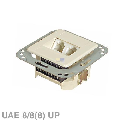 Klick zeigt Details von Anschlussdose 2-fach UAE UP