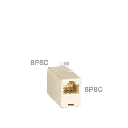 Klick zeigt Details von Modular-Kupplung 8P8C
