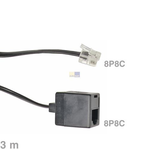 Klick zeigt Details von Kabel Modular-Verlängerungskabel 8P8C 3m