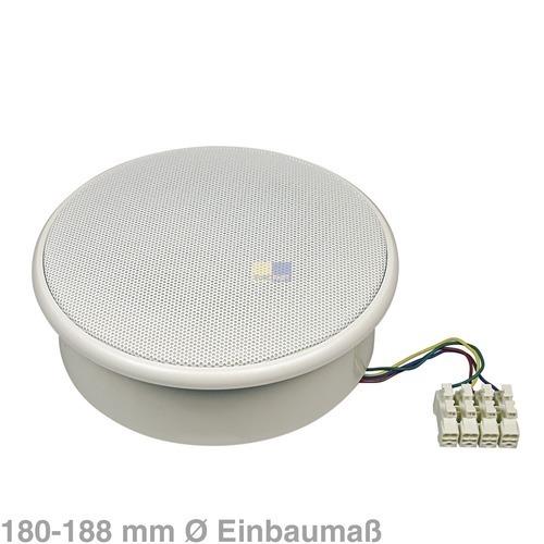 Klick zeigt Details von Deckenlautsprecher UP14-T6 weiß 2-Wege-Decken-Lautsprecher Audio TV Video