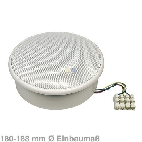Klick zeigt Details von Deckenlautsprecher UP14/2-8 weiß 2-Wege-Decken-Lautsprecher Audio TV Video
