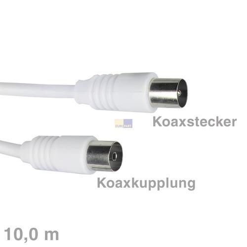 Klick zeigt Details von Anschlusskabel Empf.Koax 10,0m