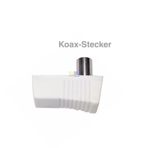 Klick zeigt Details von Koaxstecker 75 Ohm,
