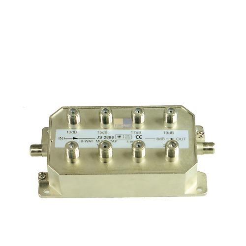 Klick zeigt Details von BK-Stichabzweiger 8-fach Televes AZ819F für Kabel-Anlagen