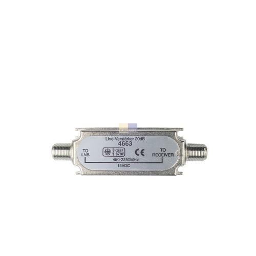 Klick zeigt Details von Leitungsverstärker SAT 20dB