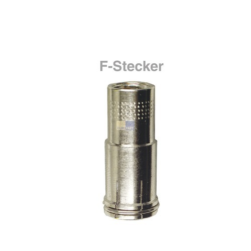 Klick zeigt Details von F-Stecker steckbar 6,8-7,2mmØ