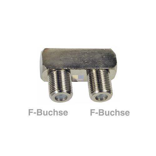 Klick zeigt Details von F-Verbinder Buchse/Buchse