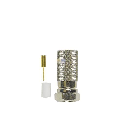 Klick zeigt Details von F-Stecker für Erdkabel F-Aufdrehstecker für Kabel Audio Video TV Antennensteckdose
