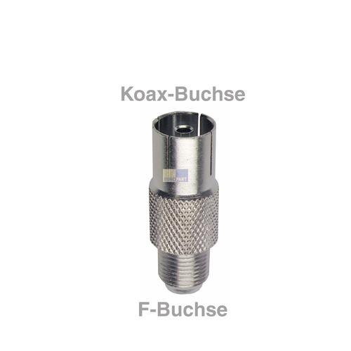 Klick zeigt Details von Adapter F-Buchse/Koax-Buchse