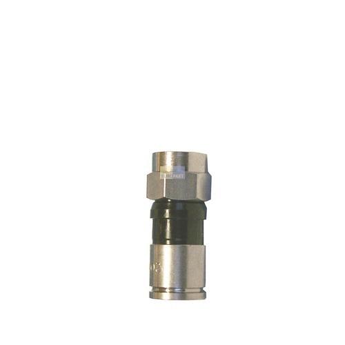 Klick zeigt Details von F-Stecker für Koaxkabel 7mmØ