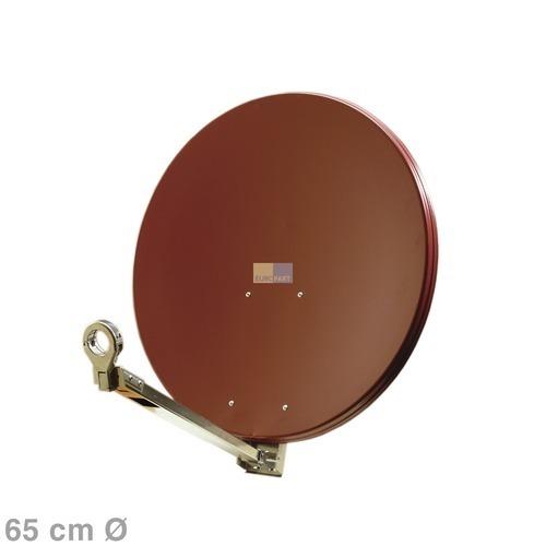 Klick zeigt Details von SAT-Antenne 65cm ziegelrot,