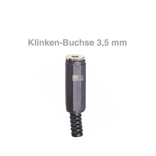 Klick zeigt Details von Klinken-Kupplung Stereo 3,5mm