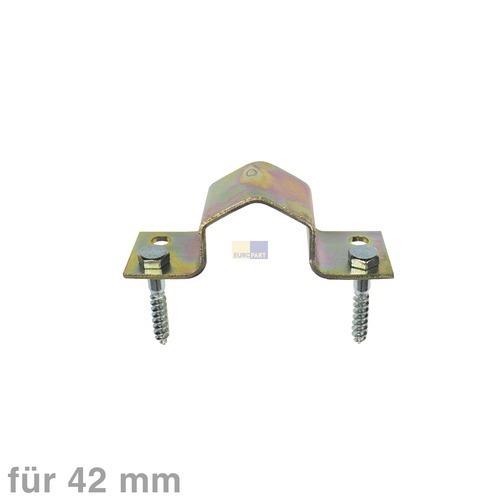 Klick zeigt Details von Mastbefestigung für 42erØ,