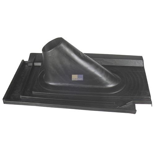Klick zeigt Details von Dachabdeckung schwarz