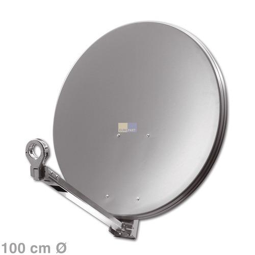 Klick zeigt Details von SAT-Antenne 100cm anthrazit,