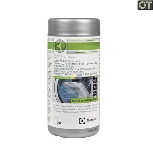 Klick zeigt Details von Trocknertücher Electrolux SoftCare, 30 Stück