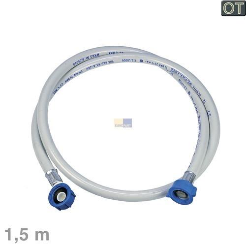 Klick zeigt Details von Zulaufschlauch gerade/Winkel 1,5m 25°C Electrolux 902979346/1 E2WIC150A Original